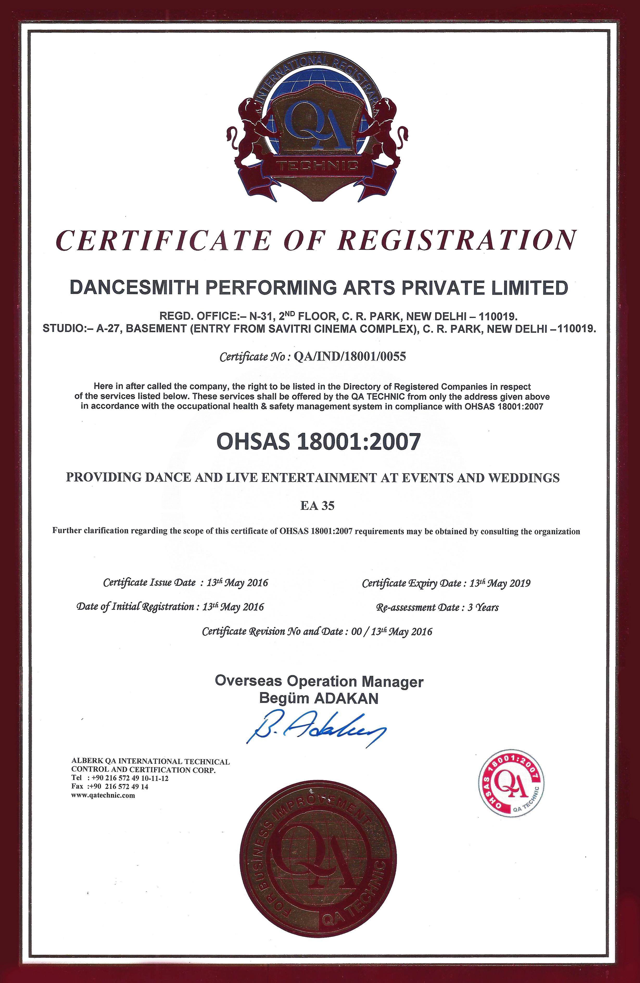 Dancesmith certificates xflitez Choice Image